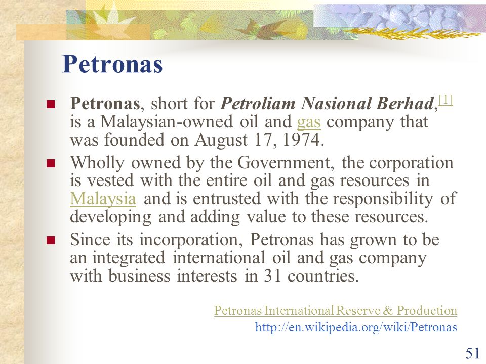 petroliam nasional berhad essay View amin soleimany's profile on  working on project of petroliam nasional berhad  in this essay we present the definition of cross docking also we describe.